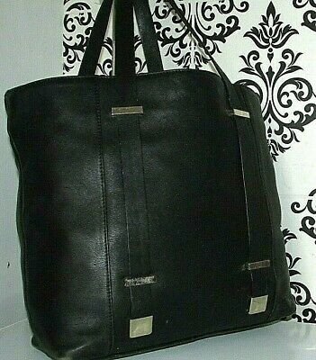AU1.79 • Buy Large John Lewis Real Leather Shopper Slouch Shoulder Grab Bag Handbag/purse