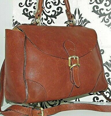 AU1.79 • Buy Last 1! John Lewis Real Leather Messenger Satchel Slouch Grab Bag Handbag/purse