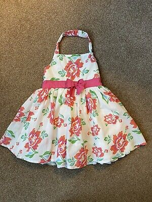 AU1.98 • Buy Girls John Lewis Pink And White Floral Summer Dress Age 18-24 Months