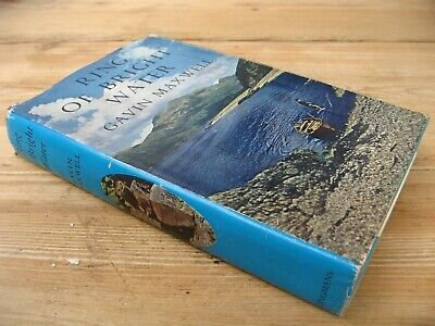 Ring Of Bright Water Gavin Maxwell 1960 1st Edition Hardback With Dust Jacket • 20£