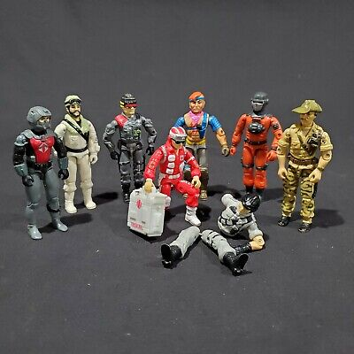 $ CDN81.60 • Buy Vintage 1980 GI Joe Figure Lot EELS Low Light Zandar Frostbite Recondo Mainframe