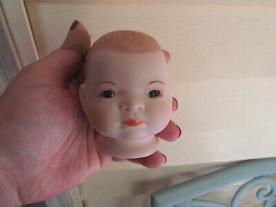$ CDN18.82 • Buy Porcelain Doll Head 3  For Doll Making..by Peggy 82