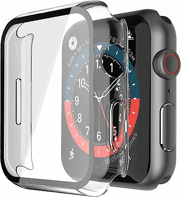AU8.99 • Buy Apple Watch Series SE/6/5/4/3/2/ 360° Full Cover TPU Tempered Glass Case Cover