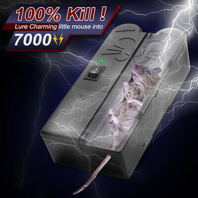 £22.99 • Buy Electronic Mouse Trap Mice Rat Killer Pest Control Electric Zapper Rodent UK