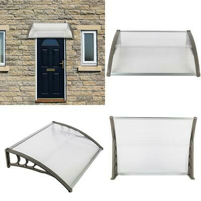 £65.49 • Buy Window Door Canopy Awning Shelter Front Back Outdoor Porch Patio Roof Rain Cover