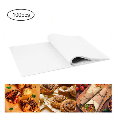 £8.93 • Buy 100 PCS Disposable Non-Stick Food Wrapping Wax Paper Sandwich Candy Wrap Paper