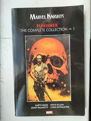 Marvel Knights Punisher By Garth Ennis: The Complete Collection Vol. 1  • 10£