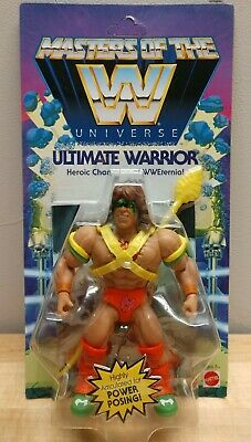 $89.99 • Buy Masters Of The WWE Universe Ultimate Warrior Wave 1 Mattel
