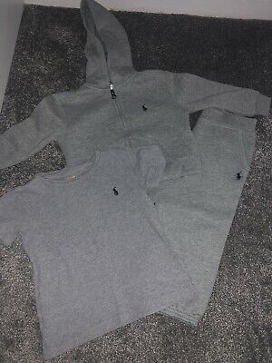 £35 • Buy Ralph Lauren Tracksuit And Tshirt 24 Months