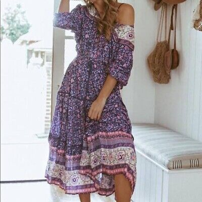 AU325 • Buy Spell And The Gypsy Designs Dahlia Purple Gown L