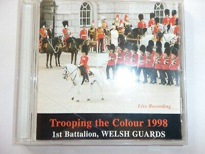 Trooping The Colour 1998 - 1st Battalion Welsh Guards - Audio CD - FREE POSTAGE • 4.99£
