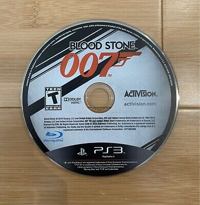 $14.49 • Buy 007: Blood Stone PS3 (Sony PlayStation 3, 2010) Video Game - Ships Same Day