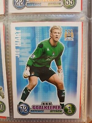£3.50 • Buy Match Attax 2007/08 - MANCHESTER CITY Joe Hart