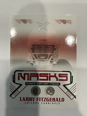 $59.99 • Buy 2004 Leaf Rookies&Stars Larry Fitzgerald RC Masks 152/325 (Perfect Condition!!)