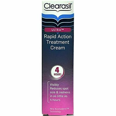 £4.79 • Buy Clearasil Ultra Rapid Action Treatment Cream 25ml USE BY DATE 07/2014 BOXED