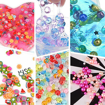AU22.22 • Buy Super Slime Supplies Beads Charms Include Floam Beads, Fishbowl Beads, Glitter