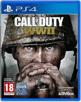 PS4 Call Of Duty WWII World War 2 Disc Version NEW SEALED • 20£