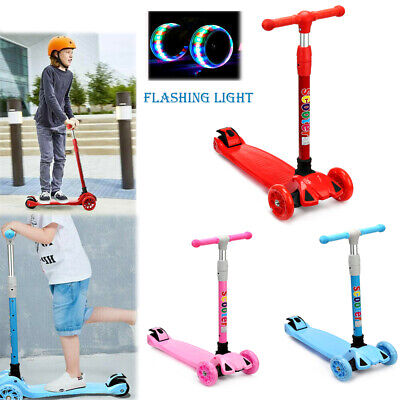 £25.99 • Buy Folding Scooters Kick Push Children Scooter 3 Wheels Toddler Kids Outdoor Sport