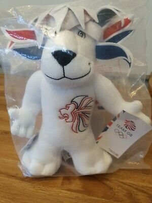 London 2012 Olympic Mascot Pride The Lion Soft Toy With Tag - Collectable NEW • 10£