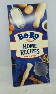 Be-Ro Flour Home Recipes 40th Edition Cooking Book Cookery  • 22£