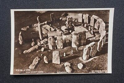 Stonehenge, Old Aerial View, Postcard - HM Office Of Works • 3.99£