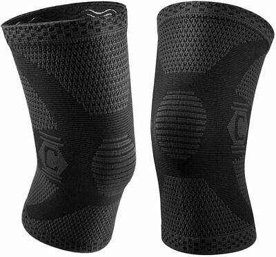 $18 • Buy Cambivo 2 Pack Knee Brace, Knee Compression Sleeves For Men And Women, Knee M