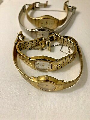 $ CDN55.14 • Buy  Seiko,  Citizens Watch Lot Of 4 Ladies Watches. Need Batteries