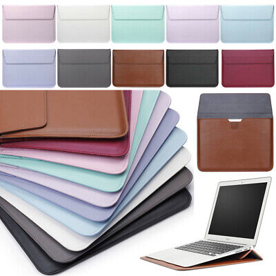 $12.40 • Buy For MacBook Air Pro 11 13 Inch 12 Retina PU Leather Pouch Sleeve Bag Case Cover