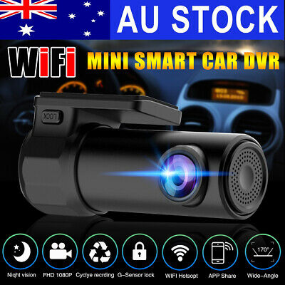 AU31.99 • Buy 1080P WiFi Car DVR 170° FHD Lens Dash Video Recorder Camera Cam Night Vision AU