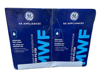 $ CDN31.32 • Buy MWF Water Filters For GE Appliances (Refrigerator) 2 Pk Genuine GE Filter