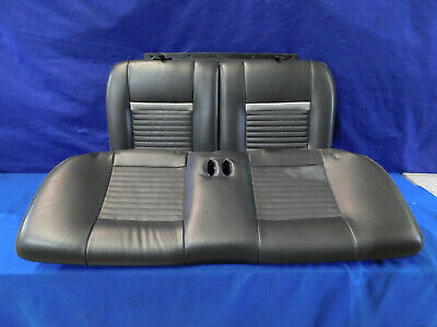 $239.99 • Buy 03 04 Mustang Mach 1 Coupe Dark Charcoal Rear Seat Upper Lower Seats M86