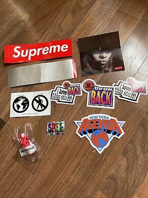 $ CDN12.52 • Buy Supreme Sticker Lot Various Parachute Toy New