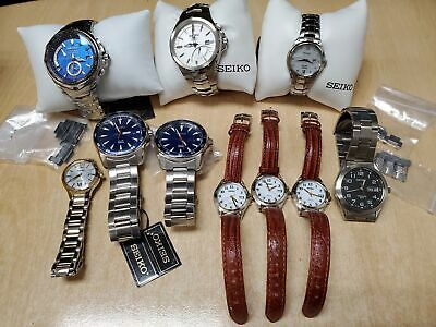 $ CDN63.91 • Buy Lot Of 10 Dead/Some Defective/Some Working All SEIKO Original Watches