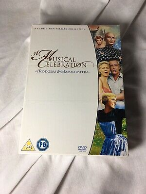 £11 • Buy Rodgers And Hammerstein Musicals DVD  12-Disc Set Box Set