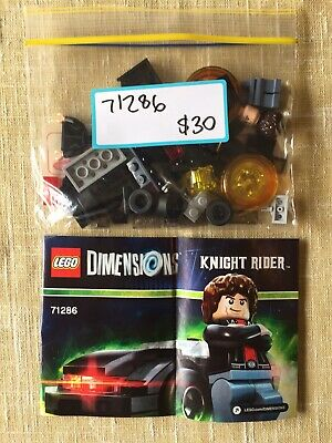 AU15 • Buy LEGO: Dimensions, 71286, Character Pack, Knight Rider, No Box, Used