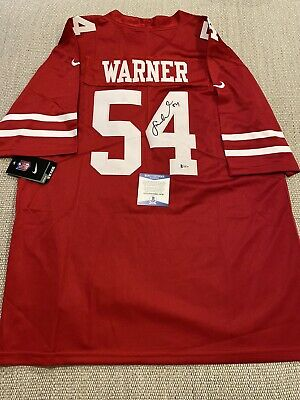 $ CDN187.97 • Buy BECKETT COA! FRED WARNER Signed Autographed San Francisco 49ers Football Jersey