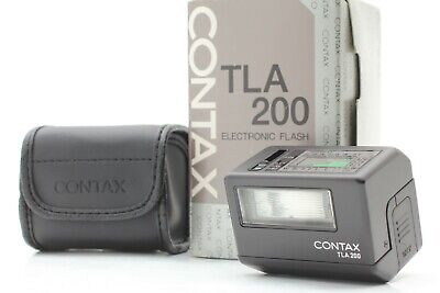 $ CDN374.93 • Buy 【UNUSED In BOX】Contax TLA 200 Black Shoe Mount Flash For G1 G2 From Japan #B076