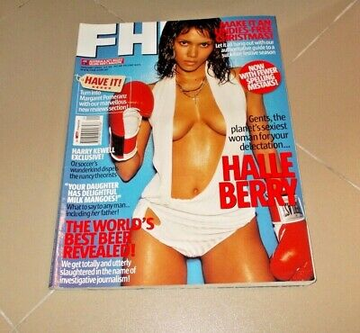 AU33.95 • Buy FHM Halle Berry January 2004 Mb1