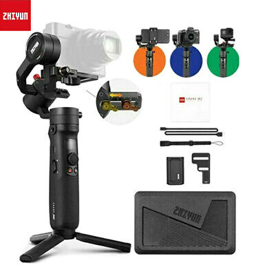 AU231.37 • Buy Zhiyun Crane M2 3-Axis Gimbal Stabilizer For Mirrorless Camera Smartphones Gopro