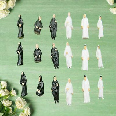 $2.14 • Buy 1/50 1/87 Scale Figures Model Miniature Models People Model For Layout H5E0