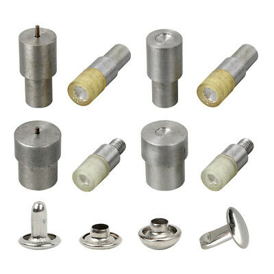 AU13.99 • Buy Double Cap Rivet Button Installation Mold Leather Sewing Fasteners Snaps Craft