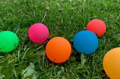 £9.99 • Buy Dog Balls GLOW IN THE DARK BALL Rubber BRIGHT Pet Interactive Dog Toy Exercise