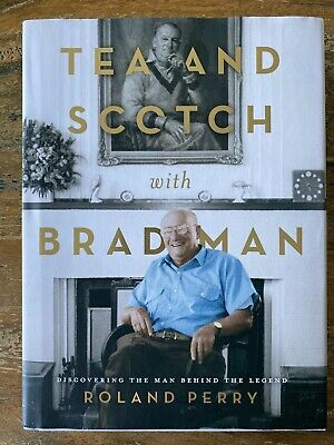AU29.95 • Buy ROLAND PERRY 'Tea And Scotch With Bradman' (2019, Hardcover) Biography Cricket