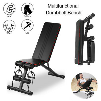 £46.99 • Buy Adjustable Dumbbell Weight Bench Incline Decline Exercise Fitness Sit Up Home UK
