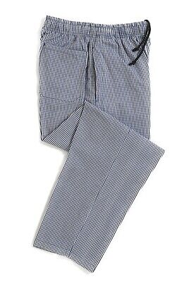 SALE! Dennys Chef Trousers - Blue White Check Size 2XL - NEW! • 19£