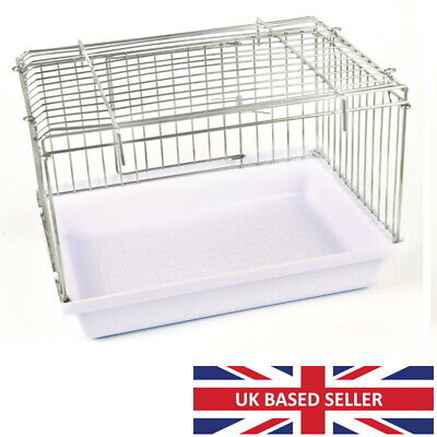 £13.95 • Buy Large Bird Bath With Wire Top For Cage, Aviary Budgie, Finch, Canary, Cockatiel