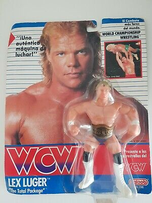 $ CDN207.27 • Buy NEW - WCW Galoob Lex Luger Figure With Belt 1990 - No.2500