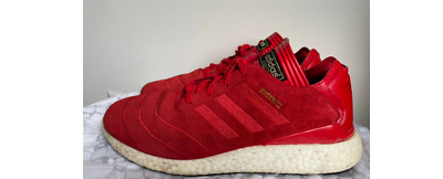 $ CDN81.46 • Buy Adidas Busenitz Pure Boost Red Suede Shoes US Men's Size 9.