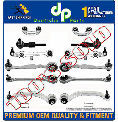$ CDN311.56 • Buy Audi A8 QUATTRO Control Arm Ball Joint Sway Bar Kit 12 PC 4D0 498 510 4D0498510