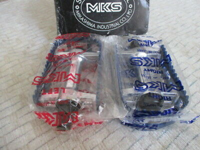 AU355.72 • Buy MKS BM10 Foot Jaw Pedal 1/2 Blue For Old School BMX Haro Shimano DX KKT Suntour